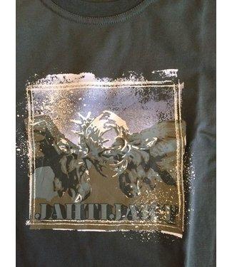 Jahti Jakt Hjort Cotton Print T-Shirt
