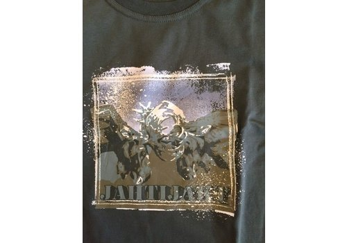 Jahti Jakt Hjort Cotton Print T-Shirt l/s