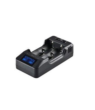 Xtar VP2 2-Schacht inkl. 12-V-Kfz-Adapter