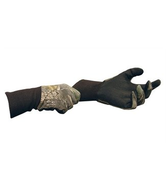 Primos Cotton gloves w/sure-grip and ext. cuff.