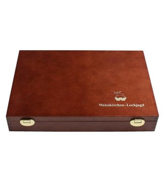 Weisskirchen Premium Lochjagdset Holzkassette