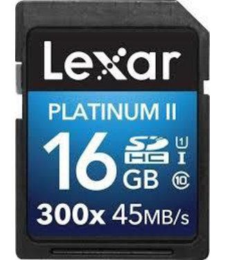 Lexar SDHC Professional UHS-I 300x 16GB