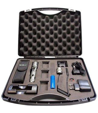 Lensolux 3W CREE-Taschenlampen-Set 9-teilig