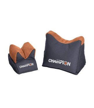 Champion Target Large bench rest shooting bags, prefilled pair