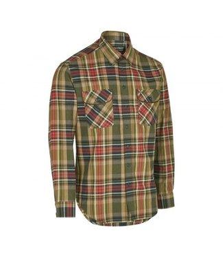 Deerhunter Overhemd Gabriel met suede details