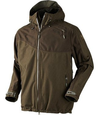 Harkila Vector Jacket Hunting Green / Shadow Brown (16) Maat 52