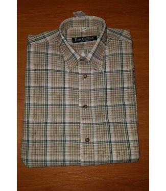 Tom Collins Shirt karierte lange Ärmel Größe S
