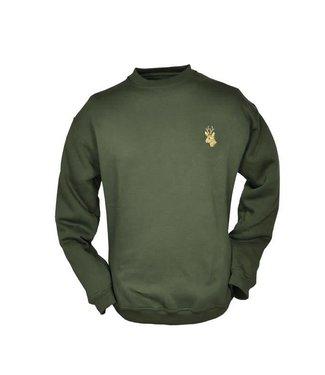 Hubertus Sweatshirt Rundhals - Tier Motiv