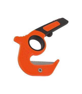 Gerber Vital Aufreißwerkzeug, Trapezklinge aus SK5 Stahl, ABS-Kunststoffgriff, zweifarbiges Textiletui, 2 Ersatzklinge