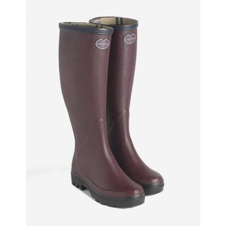 Le Chameau Giverney Jersey Lined Boot