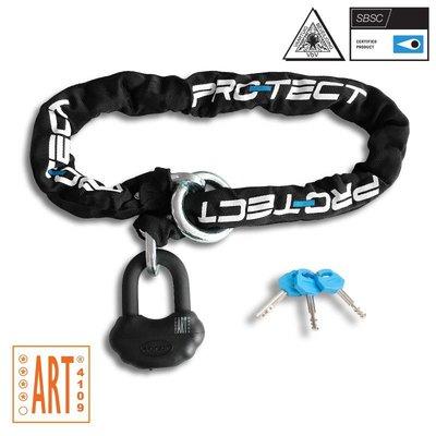 Pro-tect Kettingslot TOPAZ+ ART-4 - slimme loop - 120 CM