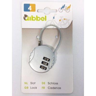 Qibbel Mini kabelslot met cijfercode