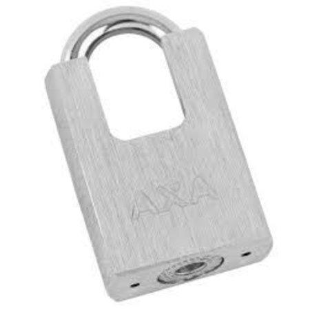 AXA Kettingslot Clinch+ 85CM Roze