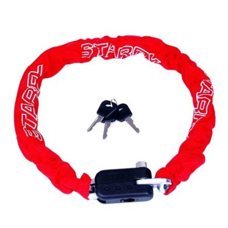 Starry Kettingslot in het rood (90CM)