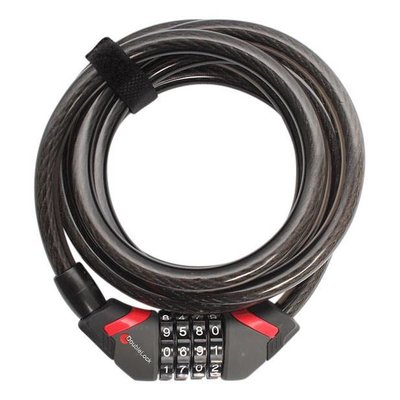 DoubleLock Kabelslot Coil Cable Combo 185 CM