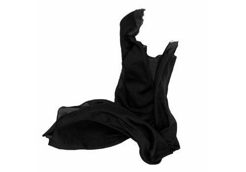 Roberta Scarf Black - ONLY 2 PCS LEFT