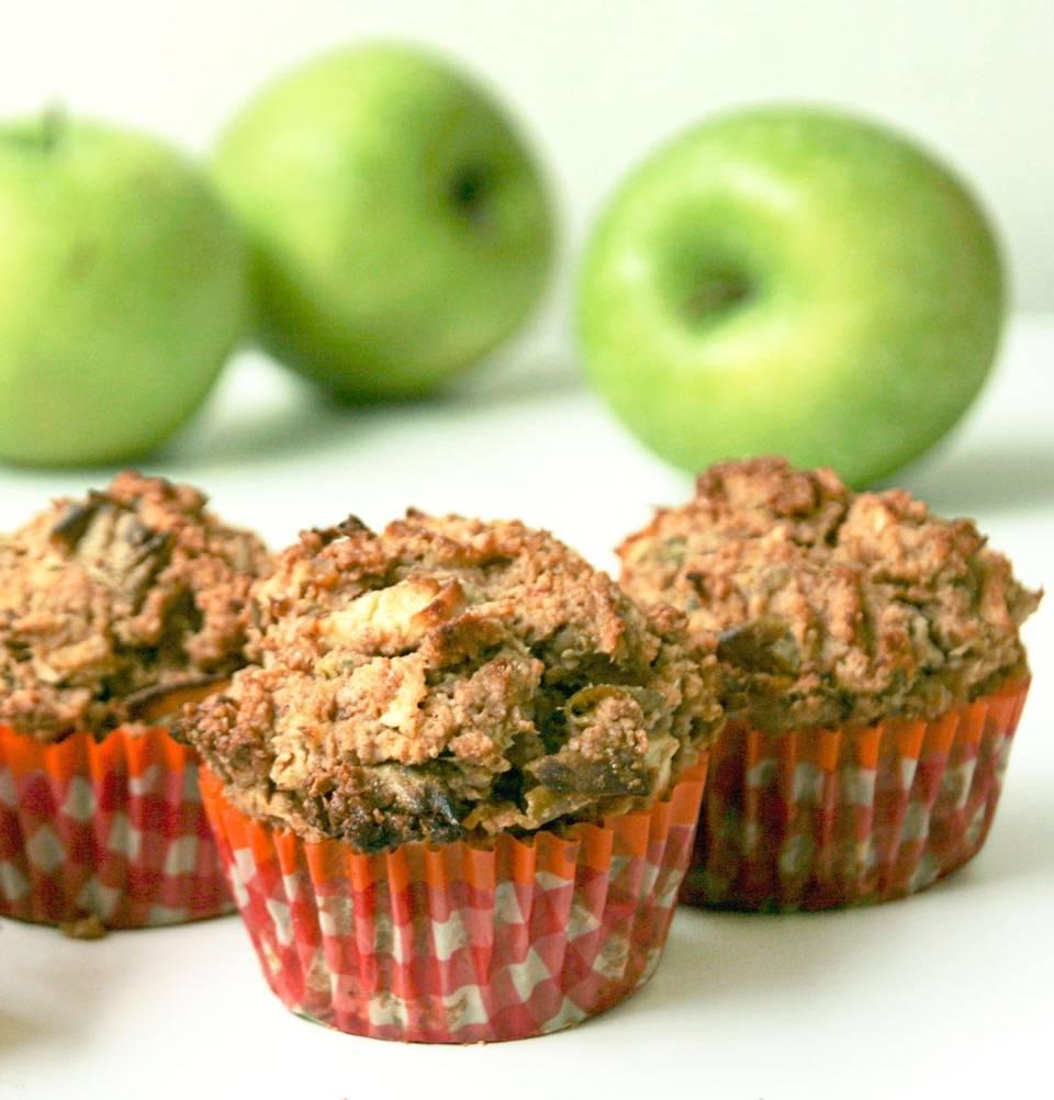 Pulp experiment: Appel Kaneel Pulp Muffins