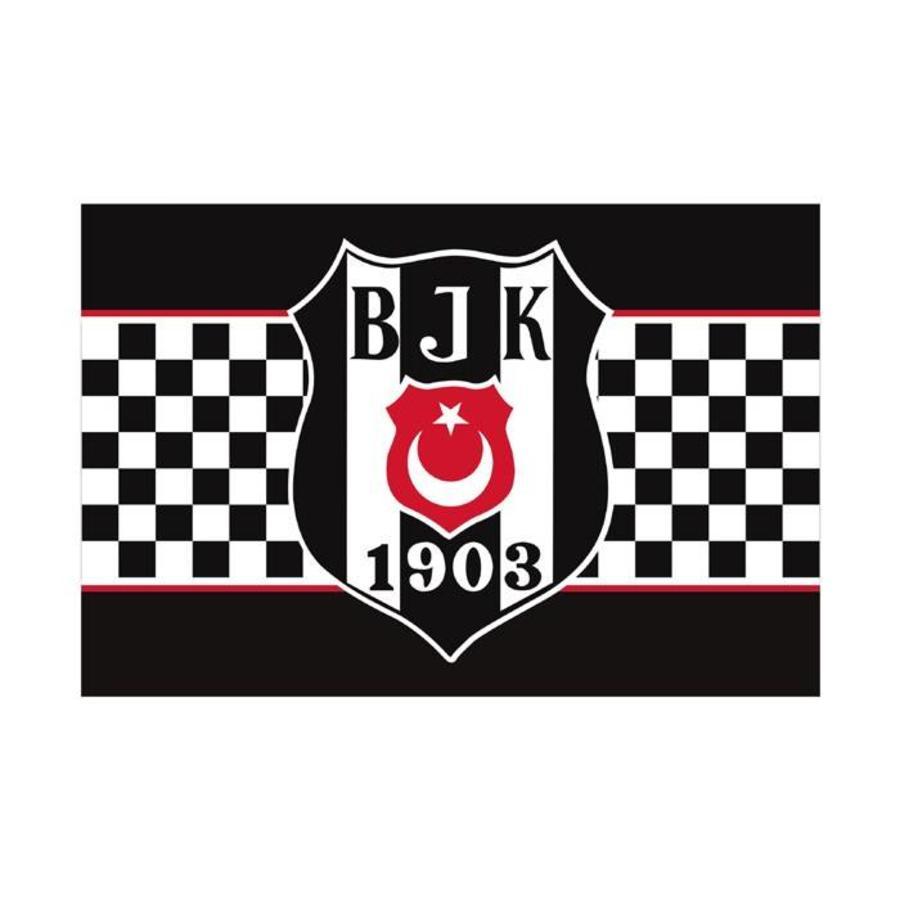 BJK 100*150 karierte fahne