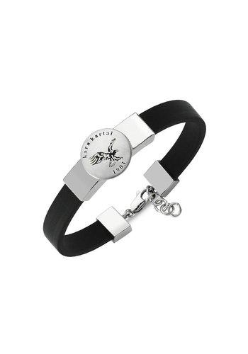 BJK leder adler armband