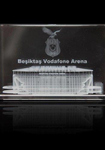 BJK kristal object 3d vodafone arena
