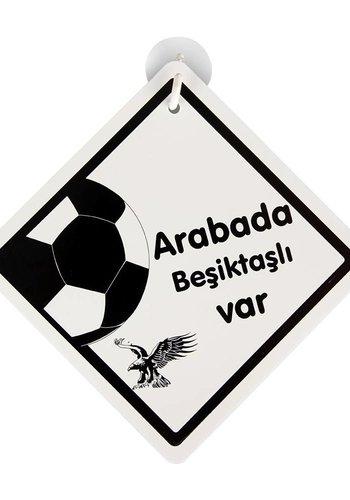 BJK es10 Car pendant 'arabada Beşiktaşli var'