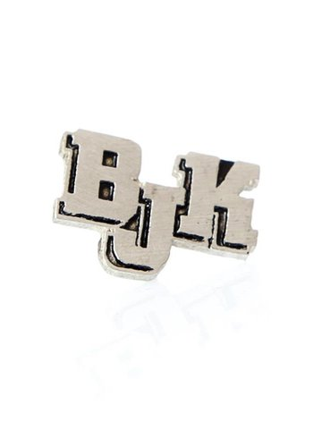 BJK text pin