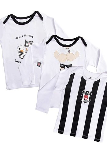 BJK driedelig T-shirt baby 01