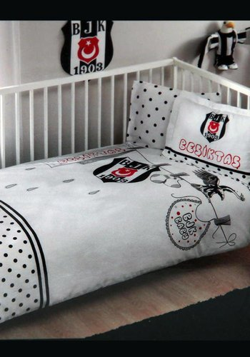 BJK bed clothes set 1 person 'fanatik baby'