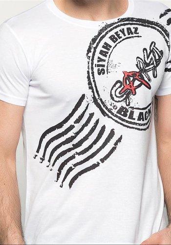 BJK çarşı 07 damga T-shirt