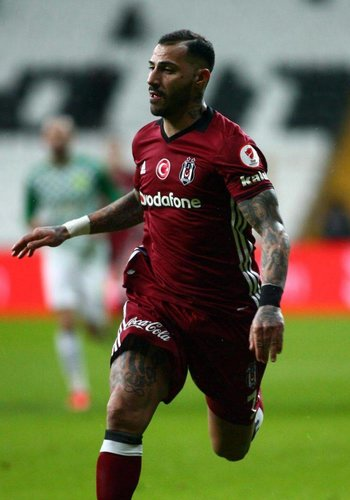Adidas Beşiktaş Adidas maillot bordeaux 16-17 (3.maillot)