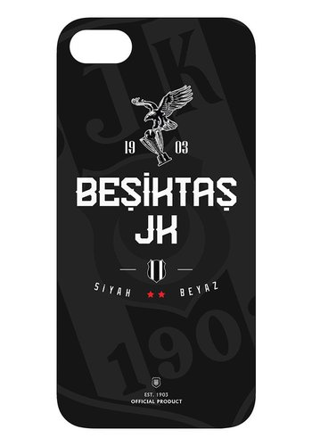 BJK iphone 7 / iphone 8 schwarz weiss Handyhülle