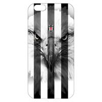 BJK iphone 6 gestreift schwarzer Adler Handyhülle