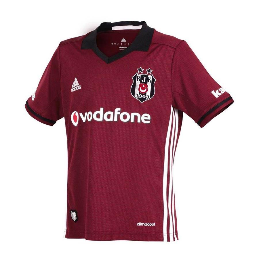 Adidas shirt bordeaux 16-17 kinderen