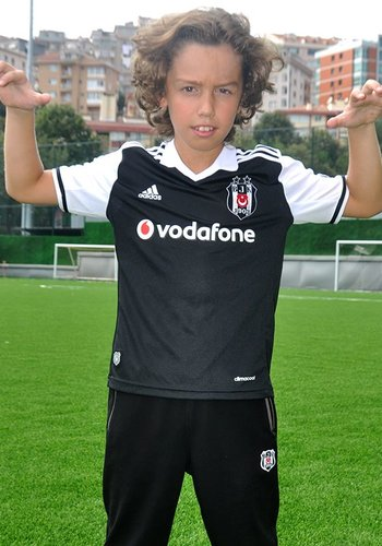 Adidas football shirt black 16-17 Kids