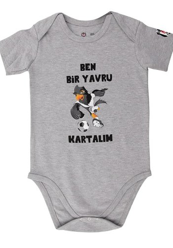 BJK baby body 04 Grey melange