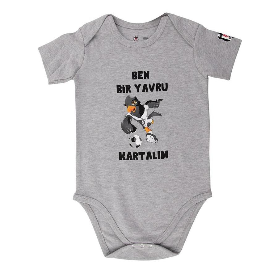BJK baby-strampler 04 Grau melange