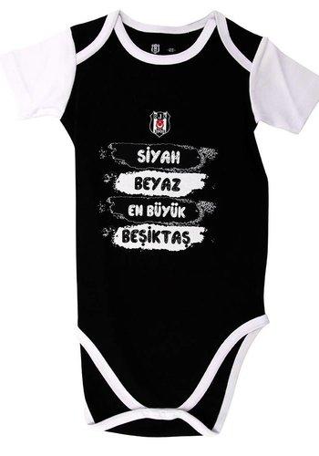 BJK baby body 06 zwart