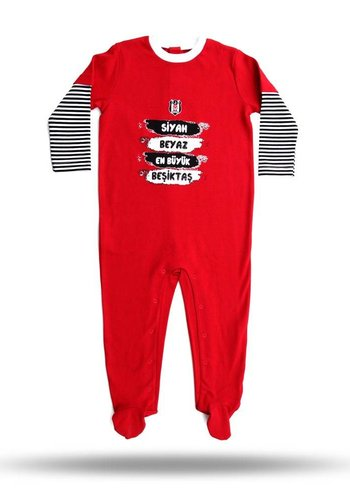 BJK baby bodysuit 03 red