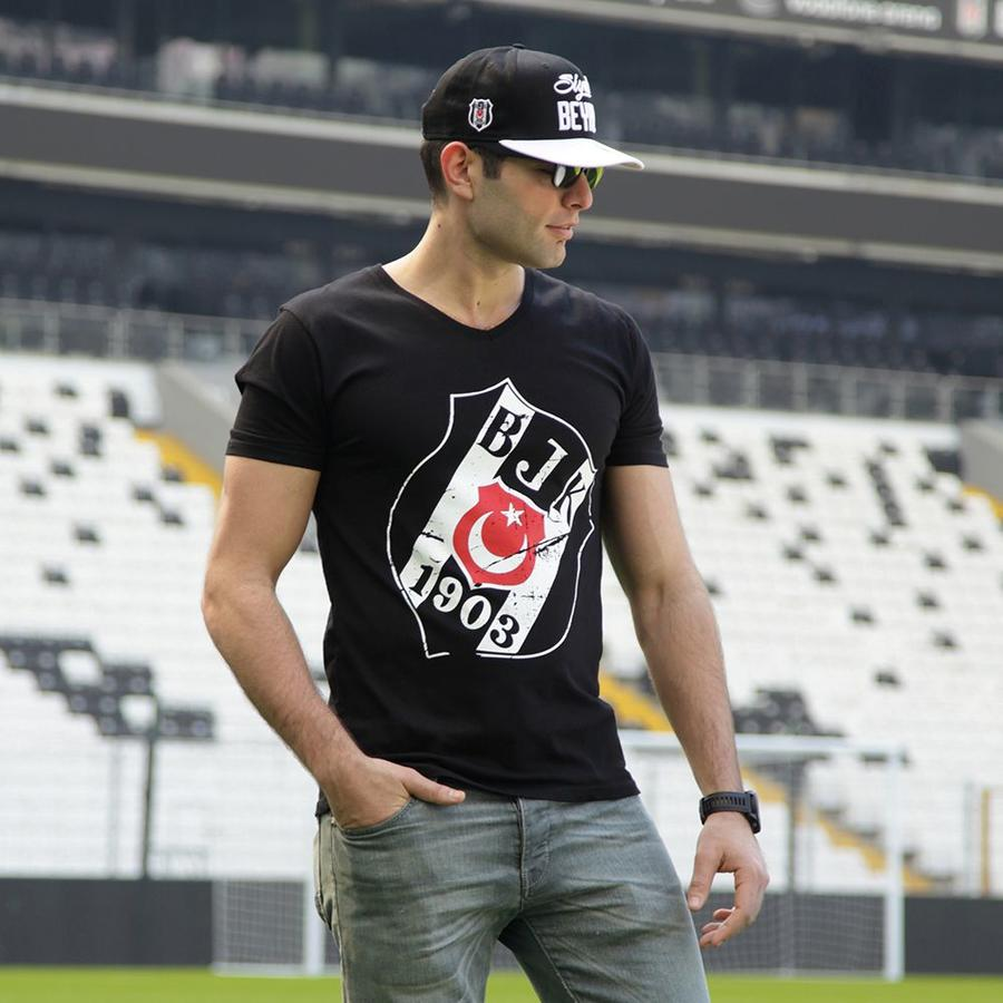 7717125 t-shirt herren schwarz