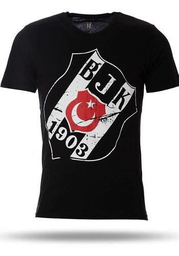 7717125 T-shirt heren zwart