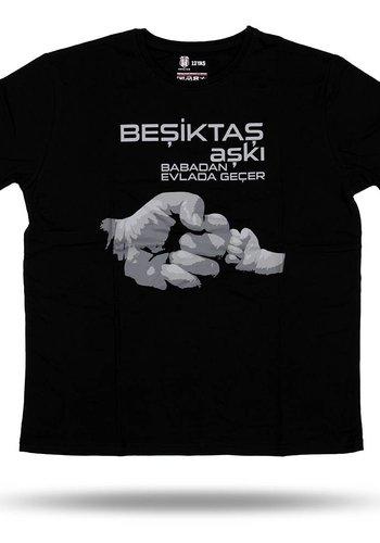 6717124 T-shirt kinderen zwart