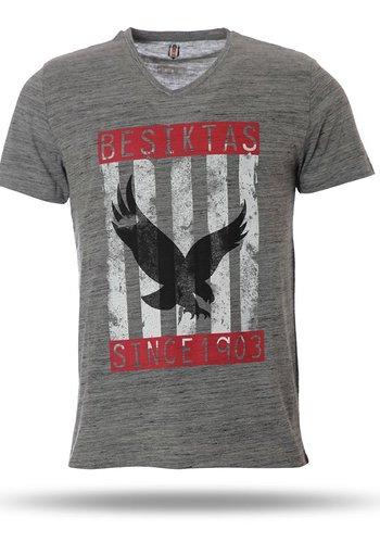 7717147 T-shirt heren grijs