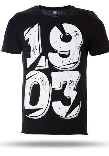 7717158 T-shirt heren zwart