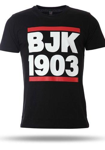 7717166 T-shirt heren zwart
