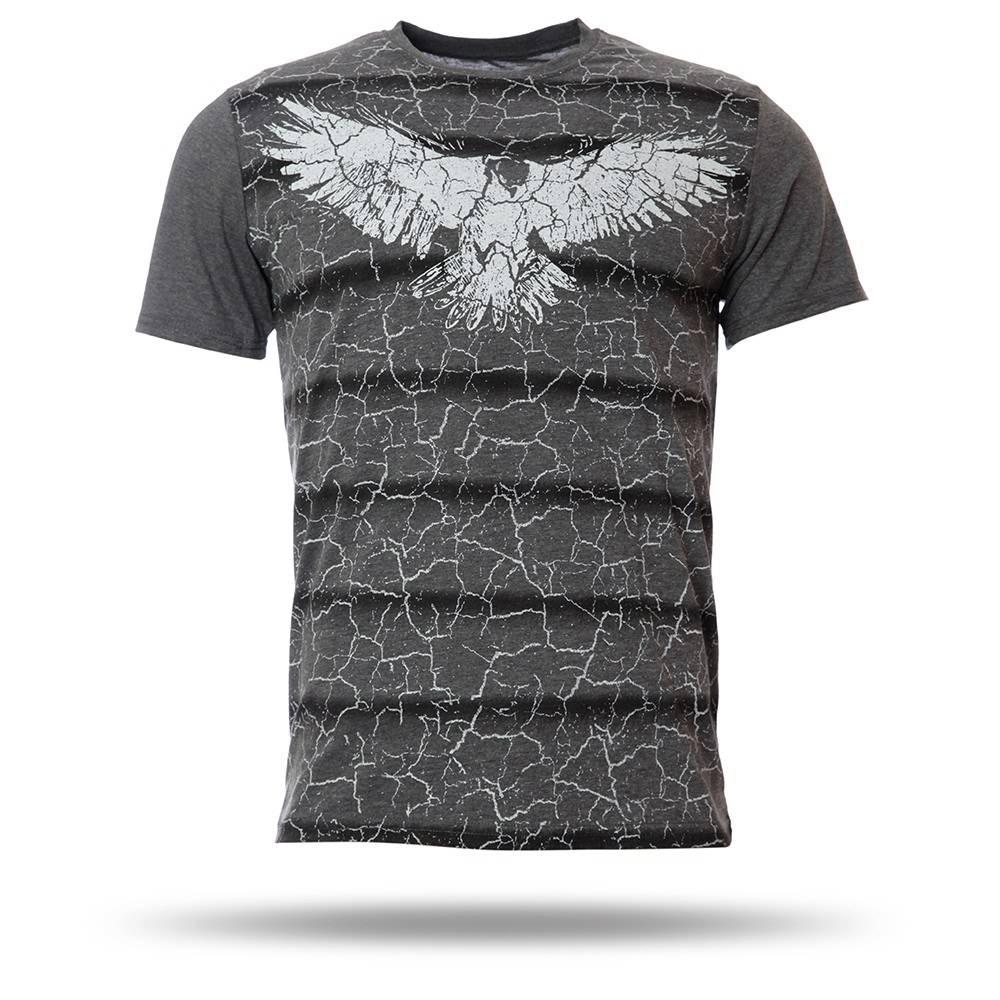 7717106 t shirt herren anthrazit melange kartal yuvas. Black Bedroom Furniture Sets. Home Design Ideas