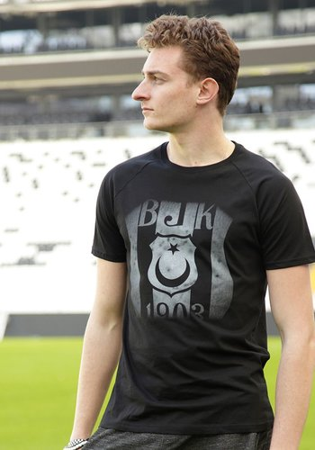 7717232 T-shirt heren zwart