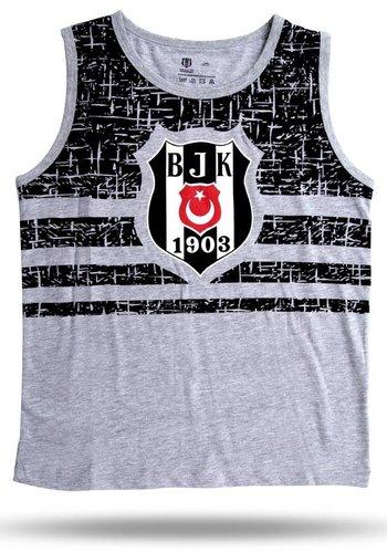 BJK Kids singlet 01 grey melange