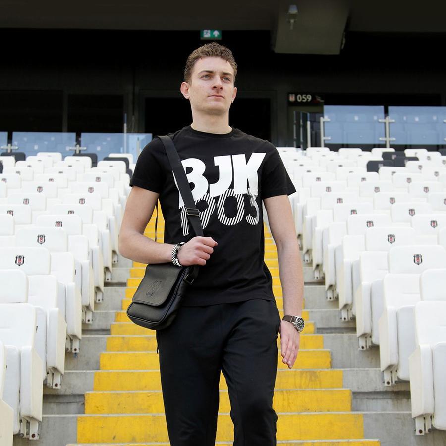 7717136 t-shirt herren schwarz