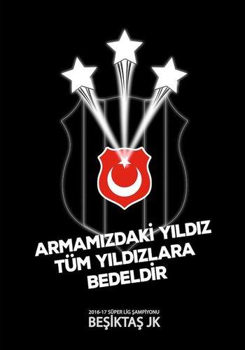 BJK 2016-2017 ŞAMP.BAYRAK 300*400
