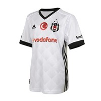 Beşiktaş Adidas Kindertrikot 17-18 weiβ
